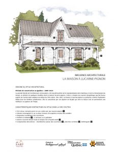thumbnail of maison à lucarne-pignon